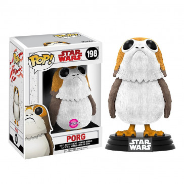 Star Wars VIII Porg POP! Flocked Figur 9 cm
