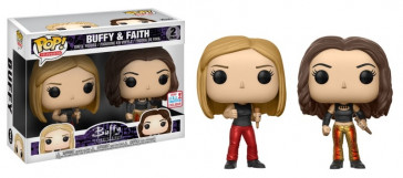 Buffy & Faith POP! 25th Anniversary Figuren Doppelpack 9 cm NYCC Exclusive
