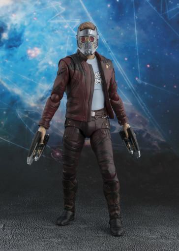 Guardians of the Galaxy Vol. 2 S.H. Figuarts Actionfigur Star-Lord & Explosion 17 cm
