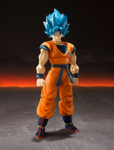Dragonball Super Saiyajin God Super Saiyajin Goku Super S.H. Figuarts Actionfigur 14 cm