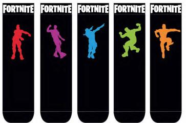 Fortnite Socken 5er-Pack Dance