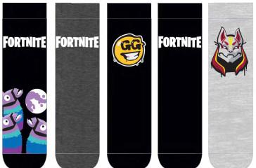 Fortnite Socken 5er-Pack Logo & Symbols