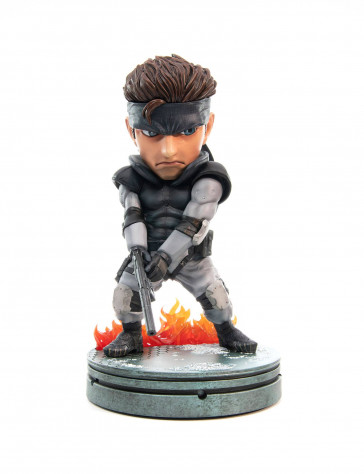 Metal Gear Solid Solid Snake PVC SD Statue 20 cm