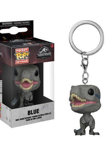 Jurassic World 2 Pocket Pop Vinyl Schlüsselanhänger Blue 4 Cm Jetzt