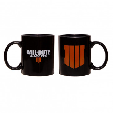 Call of Duty Black Ops 4 Tasse Logo Black