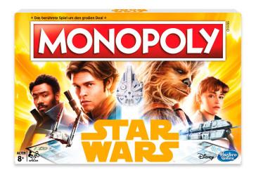 Star Wars Solo Brettspiel Monopoly *Deutsche Version*