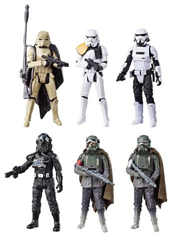 Star Wars Solo Force Link 2.0 Actionfiguren 6er-Pack 2018 Exclusive 10 cm