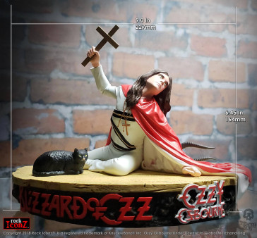 Ozzy Osbourne Ozzy Osbourne II Rock Iconz Statue 16 x 23 cm