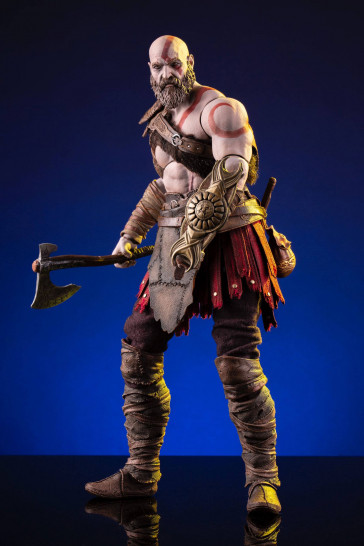 God of War 2018 Kratos Actionfigur 33 cm