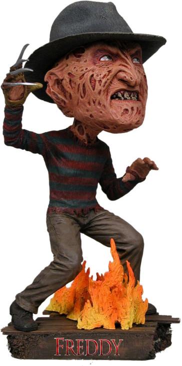 Nightmare On Elm Street Head Knocker Wackelkopf-Figur Freddy Krueger 18 cm