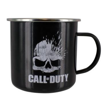 Call of Duty Metall-Tasse Skull