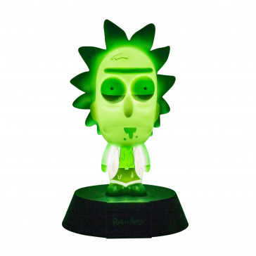 Rick & Morty 3D Icon Lampe Rick Limited Edition 10 cm