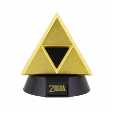 The Legend of Zelda 3D Icon Lampe Gold Triforce 10 cm