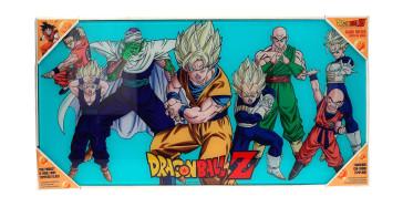 Dragonball Z Glas-Poster Heroes 30 x 60 cm