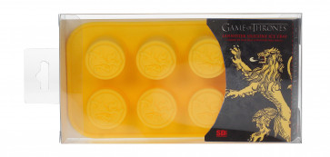 Game of Thrones Silikon-Form Backform Lannister Logo