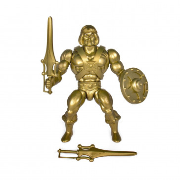 Masters of the Universe Gold He-Man Vintage Collection Actionfigur 14 cm