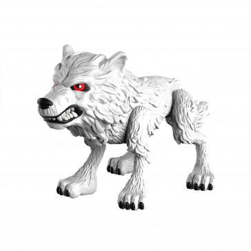 Game of Thrones Ghost Wolf Action-Figur 8 cm
