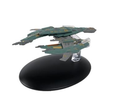Star Trek Breen-Kriegsschiff Modell