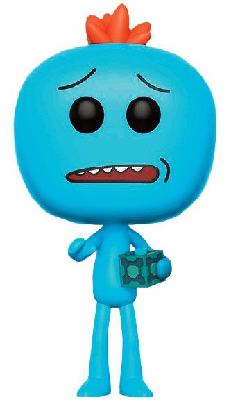 Rick and Morty Mr. Meeseeks POP! with Box Figur 9 cm