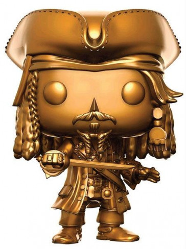 Pirates of the Caribbean Jack Sparrow POP! Figur Gold 9 cm