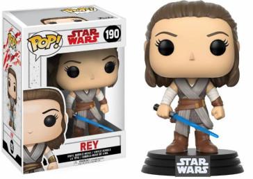 Star Wars VIII Rey POP! Figur 9 cm