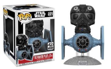 Star Wars Tie Fighter with Pilot POP! Figur 15 cm