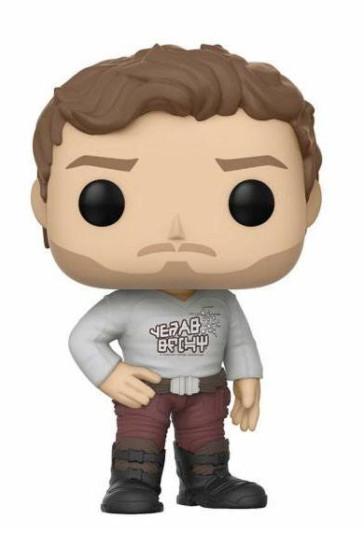 Guardians of the Galaxy 2 Star-Lord POP! Gear Shift Shirt Figur 9 cm