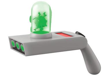 Rick and Morty Portal Gun mit Sound und Leuchtfunktion