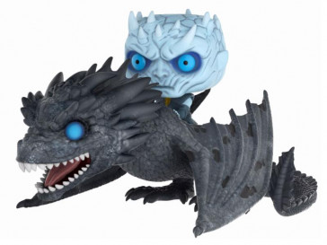 Game of Thrones Night King & Viserion POP! Rides Figur 15 cm
