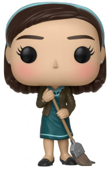 Shape of Water Elisa with Broom POP! Figur 9 cm