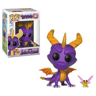 Spyro the Dragon & Sparx POP! Games Vinyl Figur 9 cm