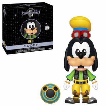 Kingdom Hearts 3 5 Star Vinyl Figur Goofy 8 cm