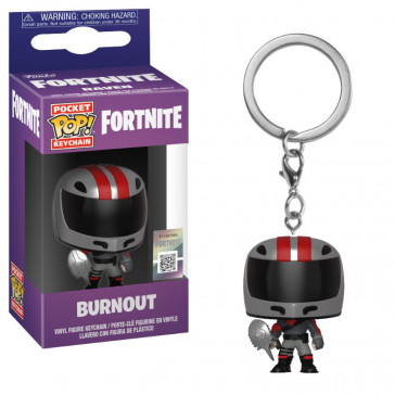 Fortnite Burnout Pocket POP! Schlüsselanhänger 4 cm