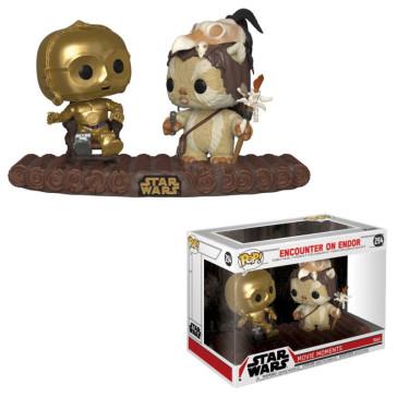 Star Wars POP! Movie Moments Vinyl Wackelkopf Figuren Doppelpack C-3PO on Throne 9 cm