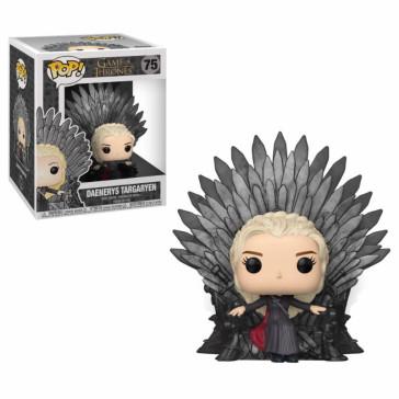 Game of Thrones Daenerys Iron Throne POP! Figur 15 cm