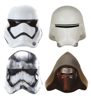 Star Wars Magnete Set Captain Phasma, Kylo Ren, Stormtrooper, Snowtrooper