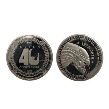Alien 40th Anniversary Sammelmünze Silver Edition