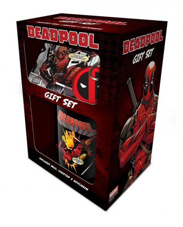 Deadpool Geschenkbox Merc With a Mouth