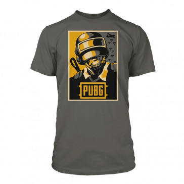Playerunknown's Battlegrounds (PUBG) Premium T-Shirt Hope Poster