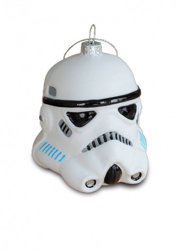 Star Wars Glas-Christbaumschmuck Stormtrooper 8 cm