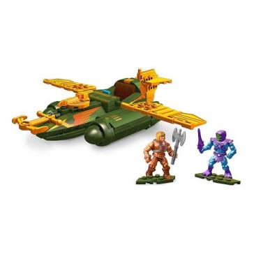 Masters of the Universe Wind Raider Attack Mega Construx Probuilder Bauset