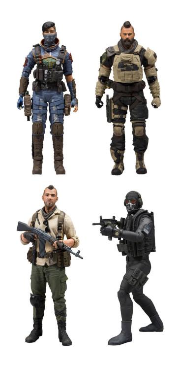 Call of Duty Black Ops 4 Actionfiguren Set 18 cm + Ingame Bonus Code