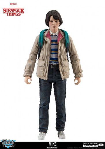 Stranger Things Actionfigur Mike 15 cm