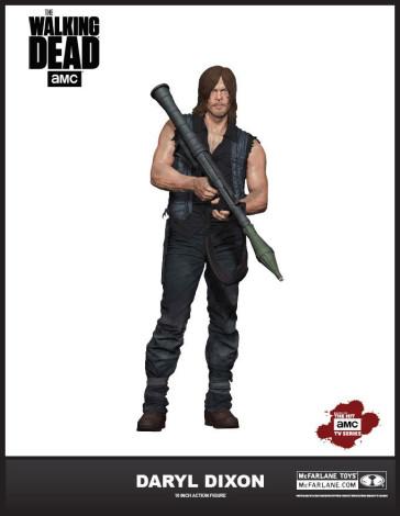 The Walking Dead Daryl Dixon Deluxe Actionfigur S6 25 cm