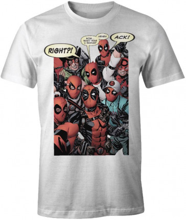 Deadpool T-Shirt Group Cosplay