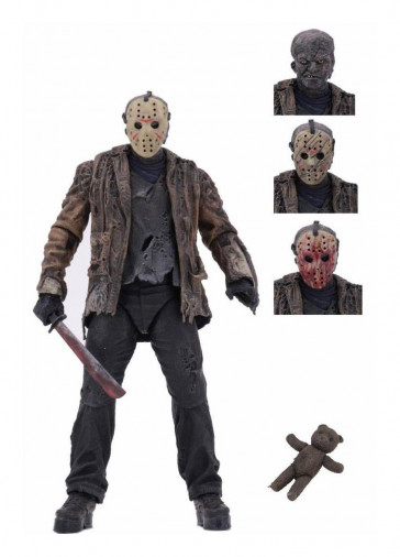 Freddy vs. Jason - Jason Voorhees Ultimate Actionfigur 18 cm
