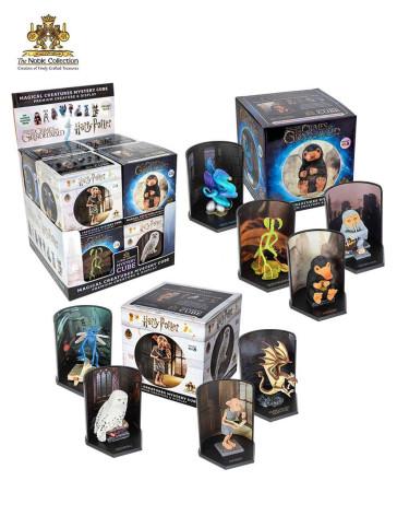 Harry Potter - Phantastische Tierwesen Statuen Magical Creatures Mystery Cube 9 cm