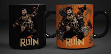 Call of Duty Black Ops 4 Tasse mit Thermoeffekt Ruin