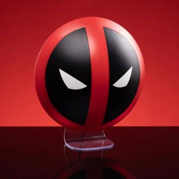 Deadpool Logo Leuchte 3D Lampe 10 cm