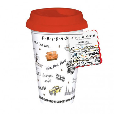 Friends Central Perk Reisebecher